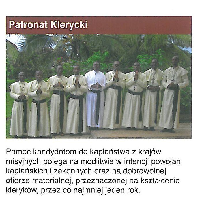 Patronat Klerycki