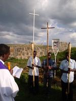 Droga Krzyżowa w Kibeho/Rwanda