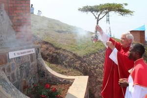Poświęcenie Drogi Krzyżowej w Kibeho/Rwanda